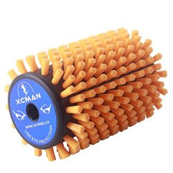 Alpine Nordic Roto Brush For Cross Country Ski Waxing Fits 10mm Hex Shaft 100mm Length (Roto Sof ...