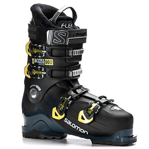 Salomon X Access 80 Wide Ski Boots 2019 27 5 Black Petrol
