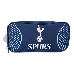 Tottenham Hotspur FC Official Swerve Football/Soccer Crest Shoe/Boot Bag (One Size) (Navy)