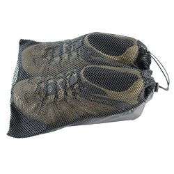 SGT KNOTS Mesh Shoe Bag Made in USA (11″x14″ – Black)