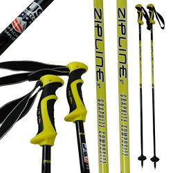 Zipline Ski Poles Carbon Composite Graphite Lollipop U.S. Ski Team Official Ski Pole – Cho ...