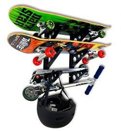 Skateboard Rack – 3 Boards – StoreYourBoard