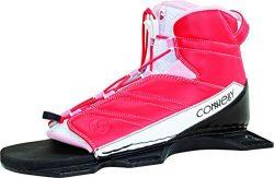 CWB Connelly Pink Women's Nova Binding Nova Front Waterski for Age (5-11), Small/Medium
