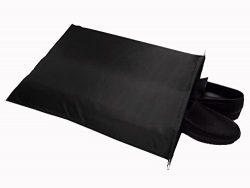 FashionBoutique waterproof Nylon shoe bags- Set of 3/Two Drawstrings/Extra Large size 22.5(L)x17 ...
