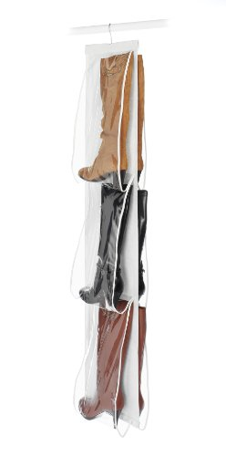 Whitmor Hanging Boot File – Hanging Storage for Men's and Woman's Boots – ...