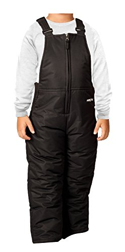 Arctix Infant/Toddler Insulated Snow Bib Overalls,Black,2T