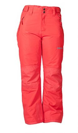 Arctix Youth Snow Pants with Reinforced Knees and Seat, Melon, Small