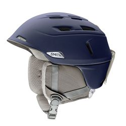 Smith Optics Compass Adult Ski Snowmobile Helmet – Matte Midnight / Medium