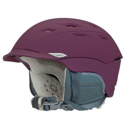 Smith Optics Adult Valence Ski Snowmobile Helmet – Matte Grape / Medium