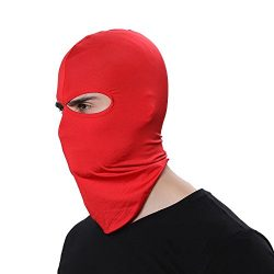 GANWAY Wind Cap Motorcycle Ski Masks Balaclavas Outdoor Sports Cycling Hat (Red)