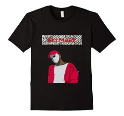 Men's Ski Mask logo style shirt 2XL Black