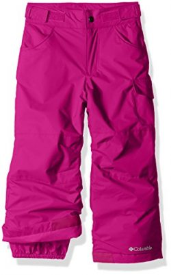 Columbia Big Girls' Starchaser Peak II Pant, Deep Blush, Large