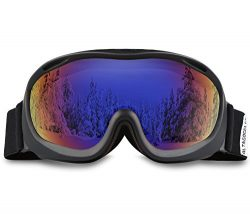 AKASO Ski Goggles An-ti Fog Double Lens Skate Glasses For Men,Women & Youth, UV protection W ...