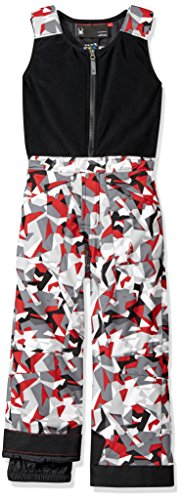 Spyder Mini Expedition Ski Pant, White Mini Camo Print/Black, Size 4