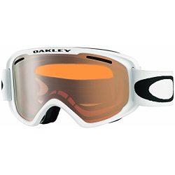 Oakley O2 XM Snow Goggles, Matte White, Persimmon, Medium