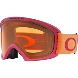 Oakley O-Frame 2.0 XL Snow Goggles, Orange Brick Frame, Persimmon Lens, Large