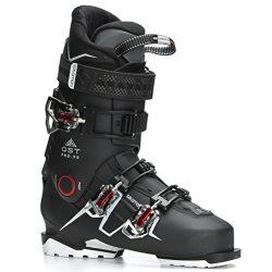 Salomon QST Pro 90 Ski Boots Men's Black/Anthracite/Red 27.5