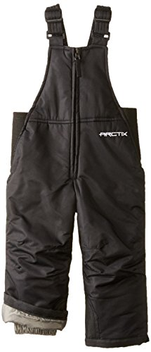 Arctix Infant/Toddler Insulated Snow Bib Overalls,Black,24 Months