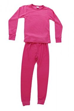 95462-Pink-7/8 Just Love Thermal Underwear Set for Girls