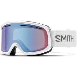 Smith Optics Womens Drift Snow Goggles White Frame/Blue Sensor Mirror