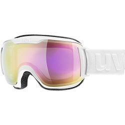 Uvex Downhill 2000 S FM Womens Snow Goggles One Size White ~ Pink