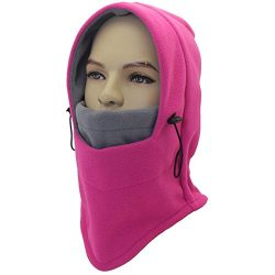 Miracu Heavyweight Balaclava Windproof Ski Face Mask Winter Fleece Hat/Hood Outdoor for Men, Wom ...