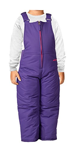 Arctix Infant/Toddler Insulated Snow Bib Overalls,Purple,3T