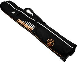 BRUBAKER 'Race Champion' Ski Bag with Wheels – for 2 Pairs of Skis – Bla ...