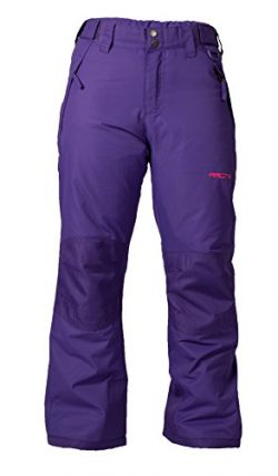 Arctix Youth Snow Pants with Reinforced Knees and Seat, Purple, Medium