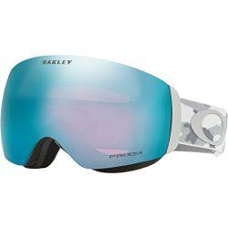 Oakley Flight Deck XM Snow Goggles, Snow Camo Frame, Prizm Sapphire Iridium Lens, Medium