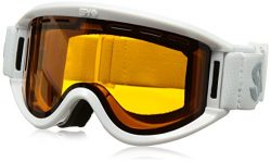 Spy Optic Getaway 313162632185 Snow Goggles, One Size (White Frame/Persimmon Lens)