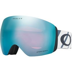 Oakley Flight Deck Snow Goggles, Hazard Bar Slate Ice, Large