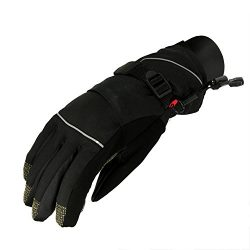 Christmas Central Women's Black Softshell Winter Thinsulate Insulated Touchscreen Ski Free ...