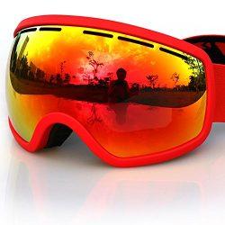 COPOZZ Ski Goggles, G2 Magnetic Ski Snowboard Snow Goggles – Quick Interchangeable Double  ...