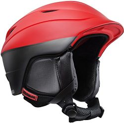 ZIONOR H2 Ski Snowboard Helmet Certified Quality for Men Women with Ventilation Control and Comf ...