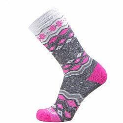 Kids Ski Socks – Warm Skiing Sock for Boys and Girls – Snowboard Socks – Merino Wool, Wick ...