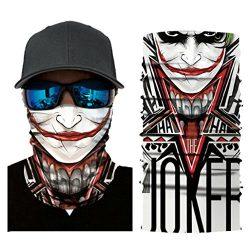 Leedford Hot Sale Cycling Motorcycle Head Scarf Neck Warmer Face Mask Ski Balaclava Headband (C)