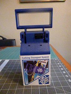 Ski Tote Locking Transport System – BLUE