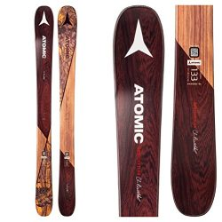 Atomic Backland Bent Chetler Mini Ski – Kids' Brown, 143cm