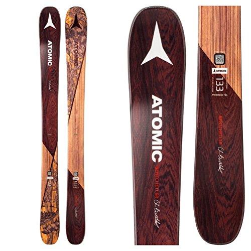 Atomic Backland Bent Chetler Mini Ski – Kids' Brown, 143cm