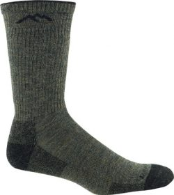 Darn Tough Fish and Game Series Merino Wool Cushion Boot Sock,Forest Green,Medium