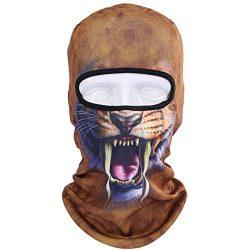 JIUSY Animal Balaclava Face Mask Breathable Speed Dry Outdoor Sports Riding Ski Head Cover Motor ...
