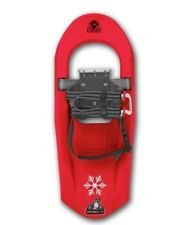 Yukon Charlie's Snowsqual Junior Snowshoes (Red)