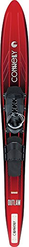 CWB Connelly Outlaw Waterski 69″, Swerve l/X-Large (Sz 9-14) with Rear Toe Strap