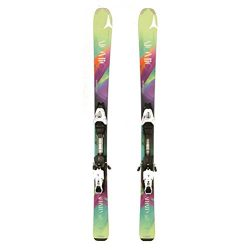 Used 2015 Womens Atomic Affinity Skis with Atomic Bindings A Condition – 152cm