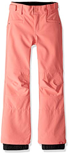 Roxy Little Girls' Creek Snow Pant, Shell Pink, 10/M
