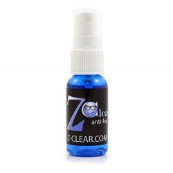 Z-Clear Anti Fog Spray for Glasses and Glass Lens Cleaner – Safe on ALL Lenses, Masks and  ...
