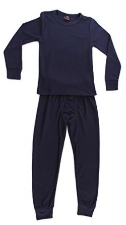 At The Buzzer Thermal Underwear Set For Boys 95362-Navy-7