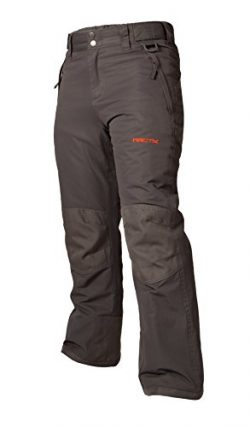 Arctix Youth Snow Pants with Reinforced Knees and Seat, Charcoal, X-Large
