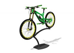 Bike Storage Stand – Premium Powder-Coated Steel Garage Bike Holder for Bicycle Storage Off the  ...